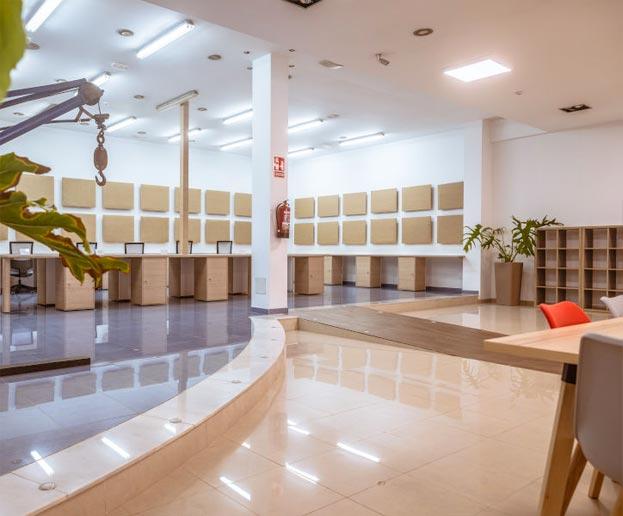 alquiler oficina churriana malaga